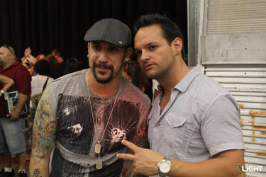 AJ Mclean Backstreet Boy